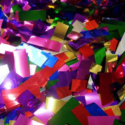 Metallic Confetti Colors