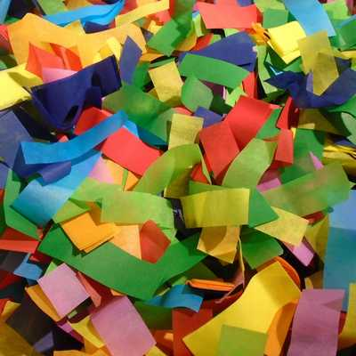 Tissue Confetti Colors